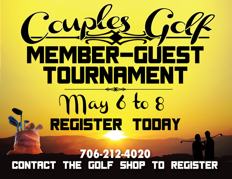 Member-Guest's are coming up!